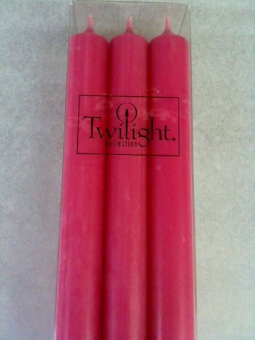 Twilight Dinner Candles - Fuchsia