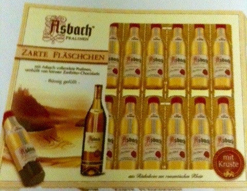 Asbach Uralt Brandy Bottle Chocolate Box