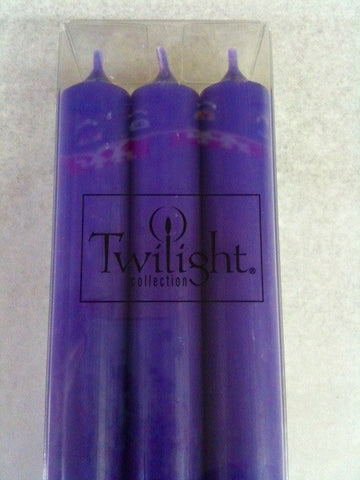 Twilight Dinner Candles - Violet