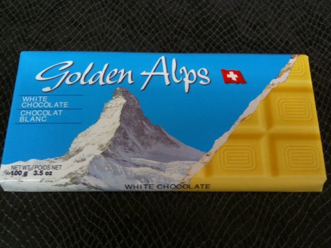 Golden Alps White Chocolate bar