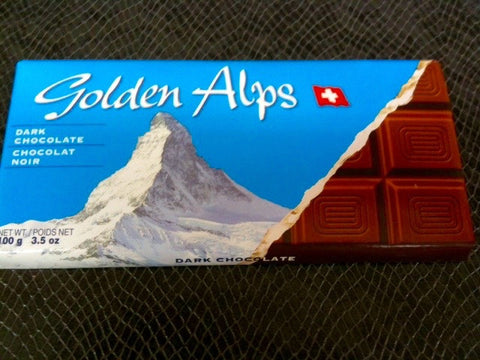 Golden Alps Dark Chocolate bar