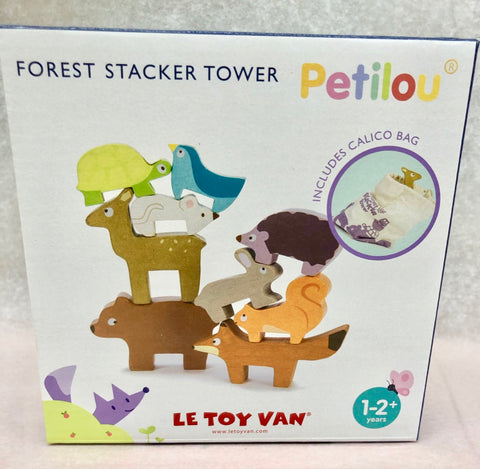 Le Toy Van Forest Animal Stacking Tower