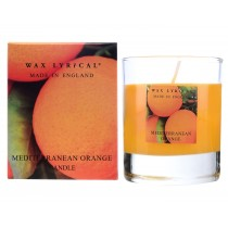 Wax Lyrical Glass Candle Small - Mediterranean Orange