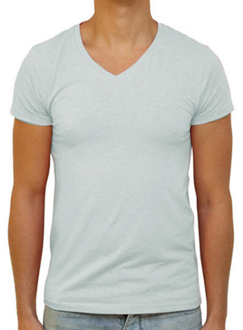 Slim V T-Shirt - Ash Grey