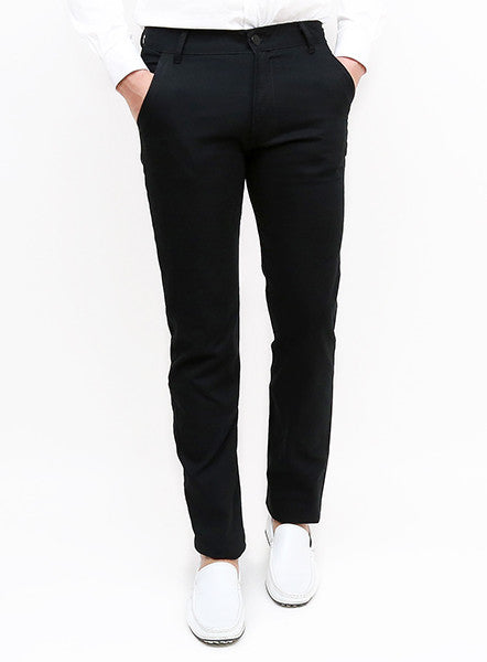 Denim - Black - Slim Tapered Fit