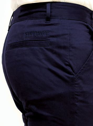 Slim Tapered Chino - Navy