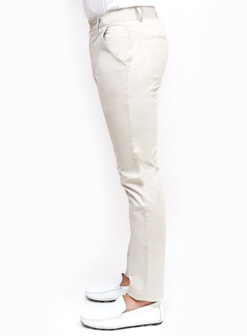 Slim Tapered Chino - Silver Grey