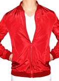 Prep Bomber Jacket - Deep Red