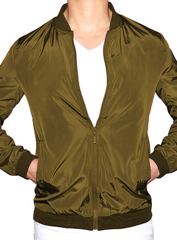 Prep Bomber Jacket - Military Green