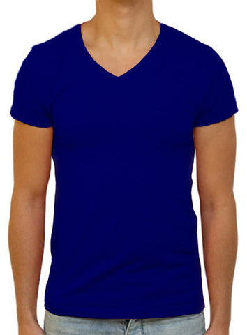 Slim V T-Shirt - Navy