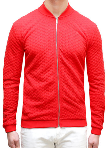 Prep Casual Bomber - Deep Red