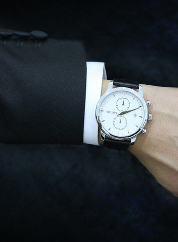 The Swuav'e Tiempo Watch - Black/Silver