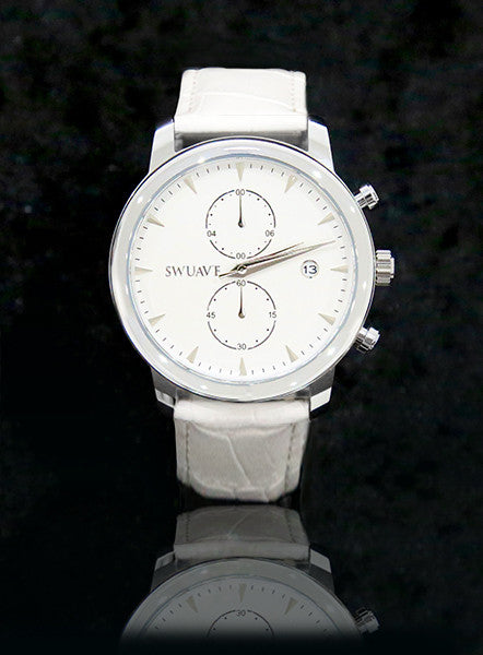 The Swuav'e Tiempo Watch - White/Silver