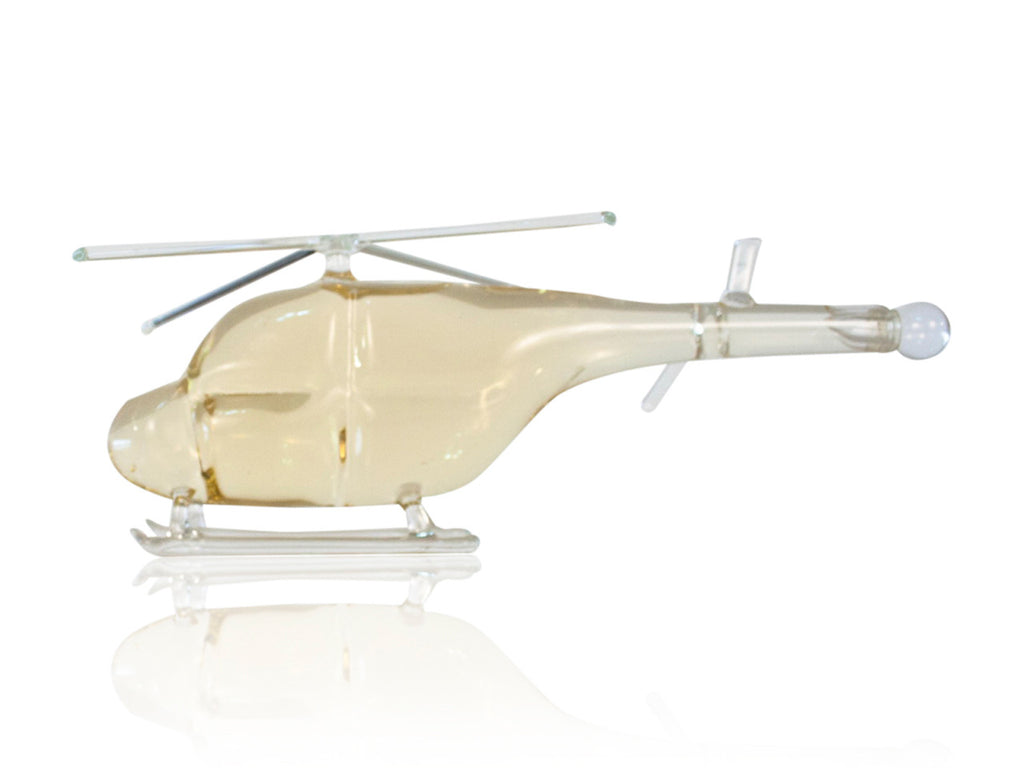 Helicopter Figurine Bottle - Glasstastic Ideas - 1