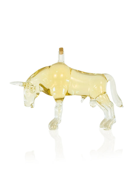Bull Figurine Bottle - Glasstastic Ideas - 1