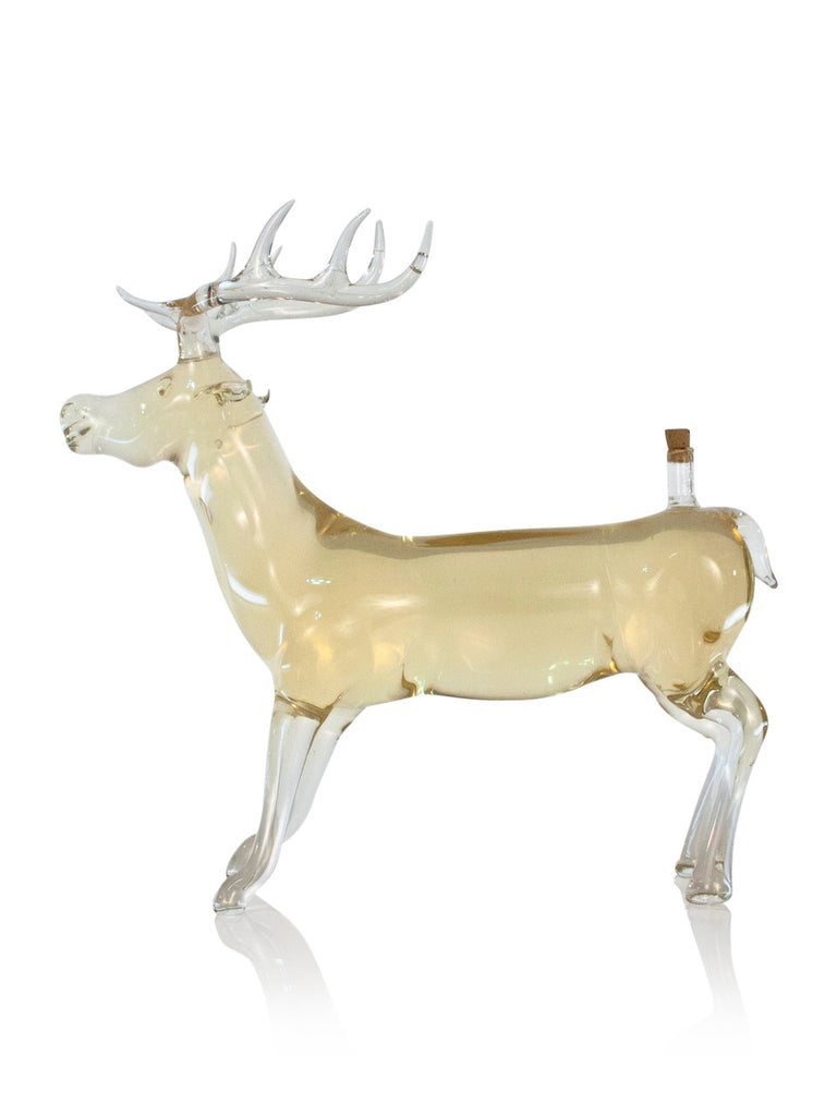 Deer Figurine Bottle - Glasstastic Ideas - 1