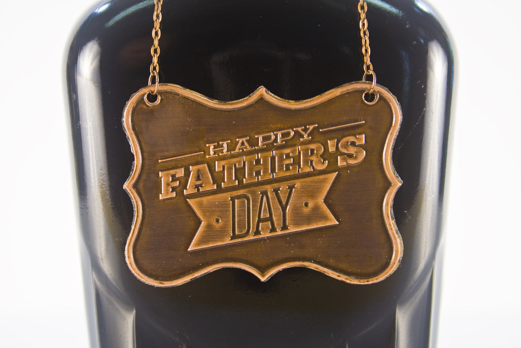 Father's Day Metal Bottle/Decanter Gift Tag - Glasstastic Ideas - 5