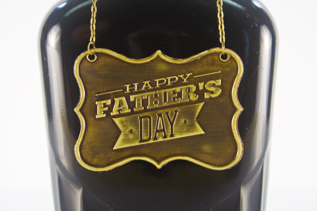 Father's Day Metal Bottle/Decanter Gift Tag - Glasstastic Ideas - 7