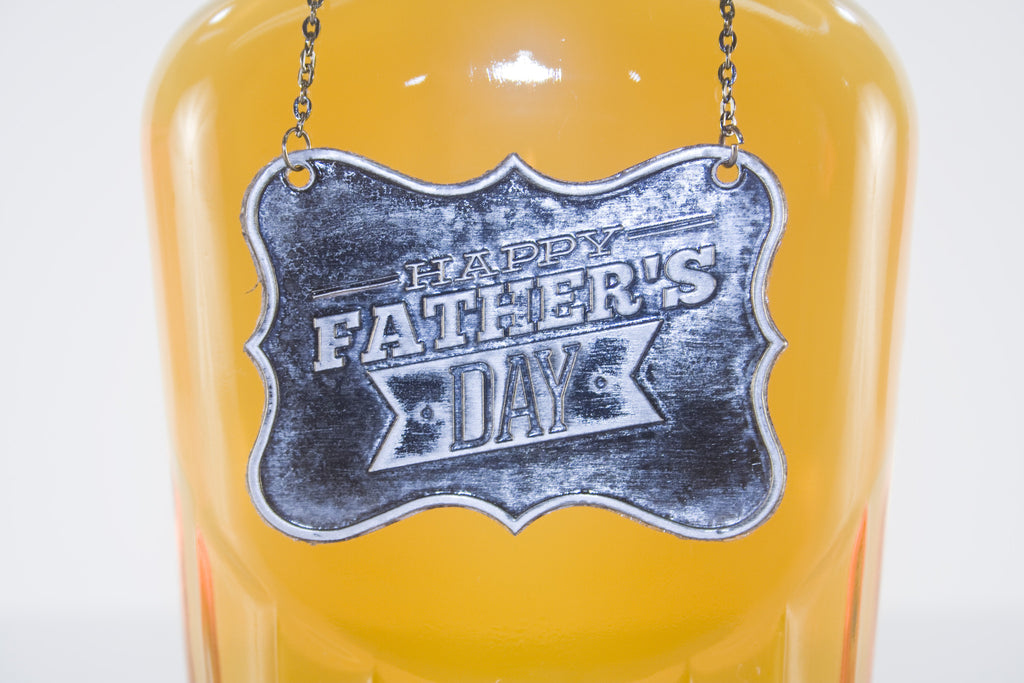 Father's Day Metal Bottle/Decanter Gift Tag - Glasstastic Ideas - 3