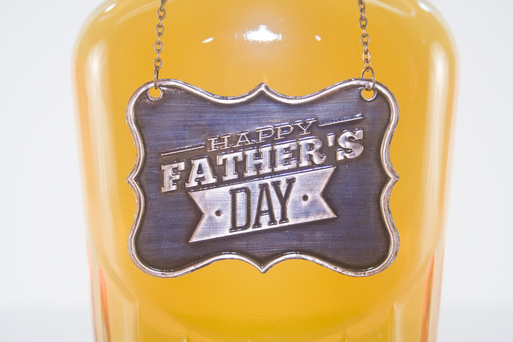 Father's Day Metal Bottle/Decanter Gift Tag - Glasstastic Ideas - 4