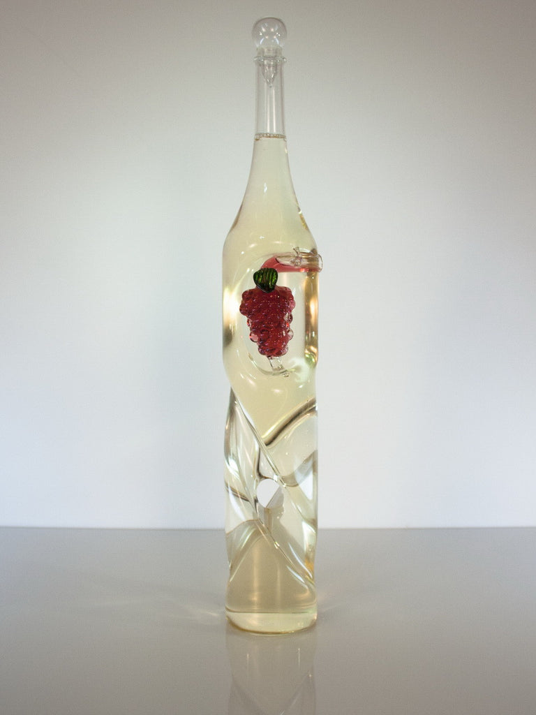 Twisted Grape Cluster Bottle - Glasstastic Ideas - 2