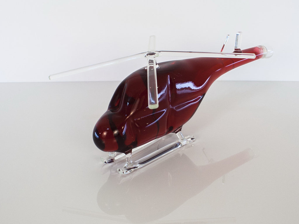 Helicopter Figurine Bottle - Glasstastic Ideas - 3