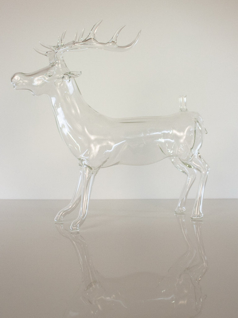 Deer Figurine Bottle - Glasstastic Ideas - 6