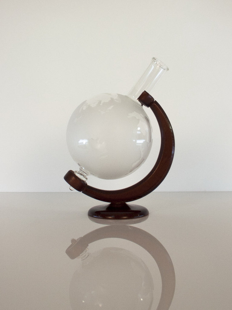 Globe Figurine Bottle - Glasstastic Ideas - 4