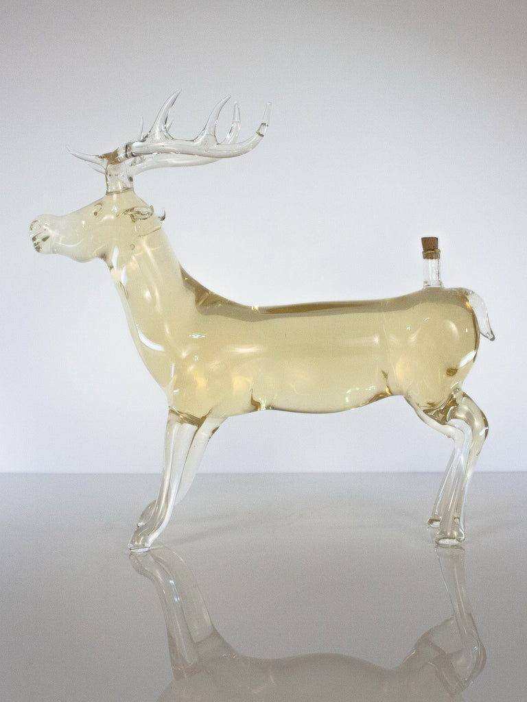 Deer Figurine Bottle - Glasstastic Ideas - 2