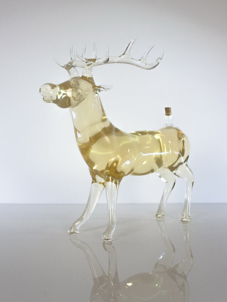 Deer Figurine Bottle - Glasstastic Ideas - 3
