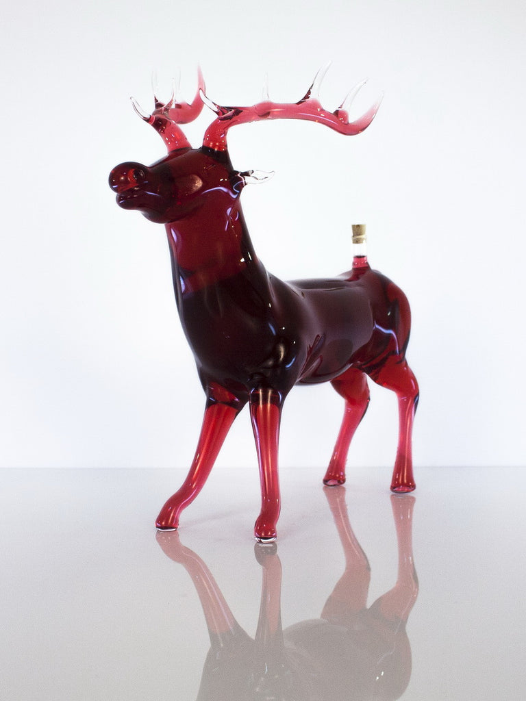 Deer Figurine Bottle - Glasstastic Ideas - 5