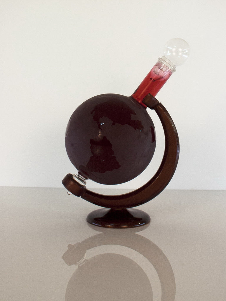Globe Figurine Bottle - Glasstastic Ideas - 2