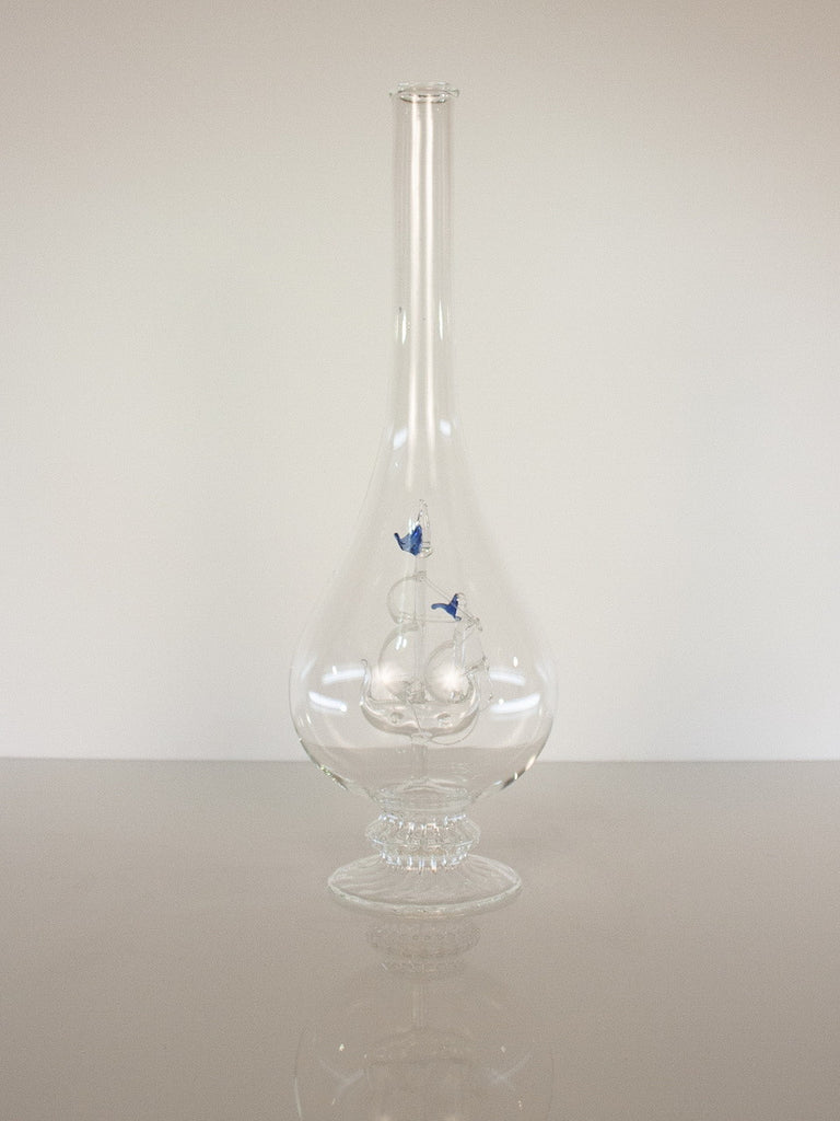 Tear Drop  Bottle with Sailboat - Glasstastic Ideas - 4