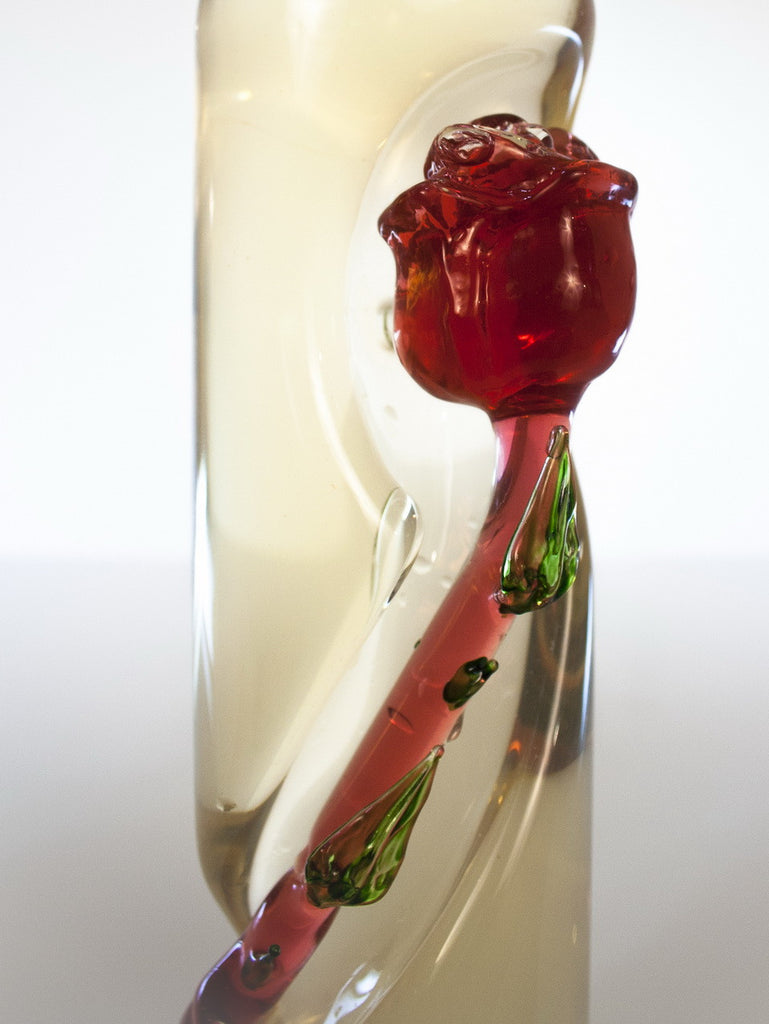 Twisted Rose Stem Bottle - Glasstastic Ideas - 4