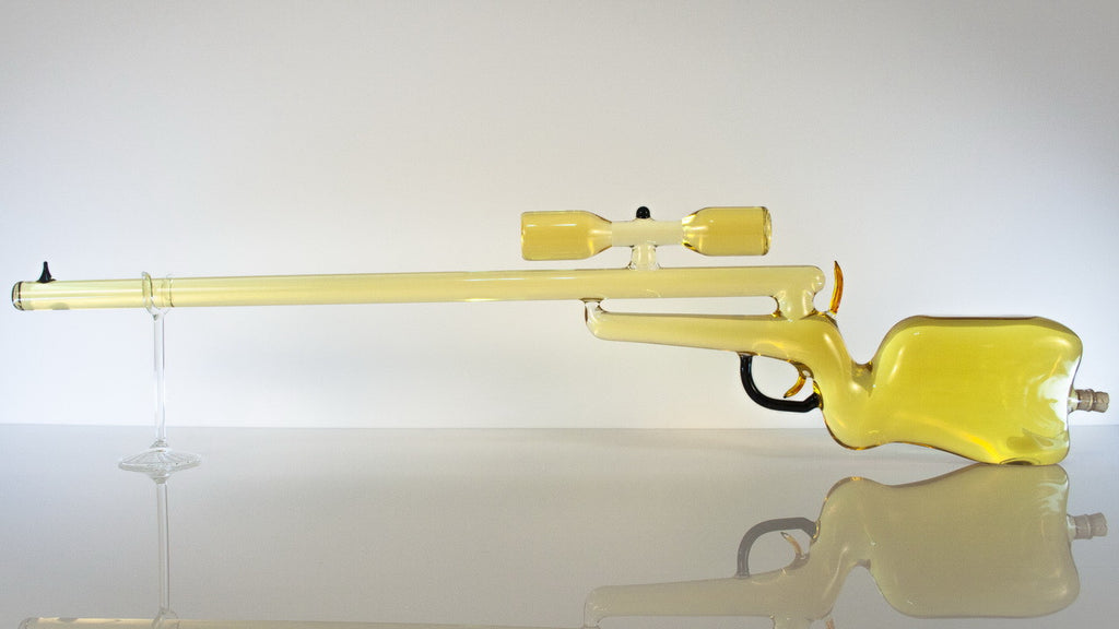 Rifle with Scope - Glasstastic Ideas - 3
