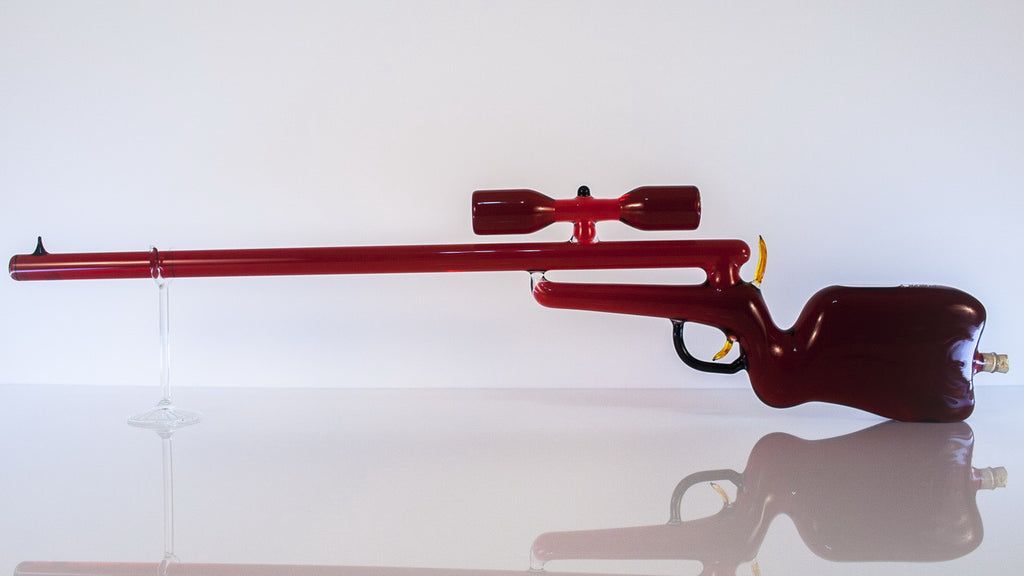 Rifle with Scope - Glasstastic Ideas - 2