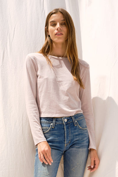 L/S Babe Tee <br> Fawn