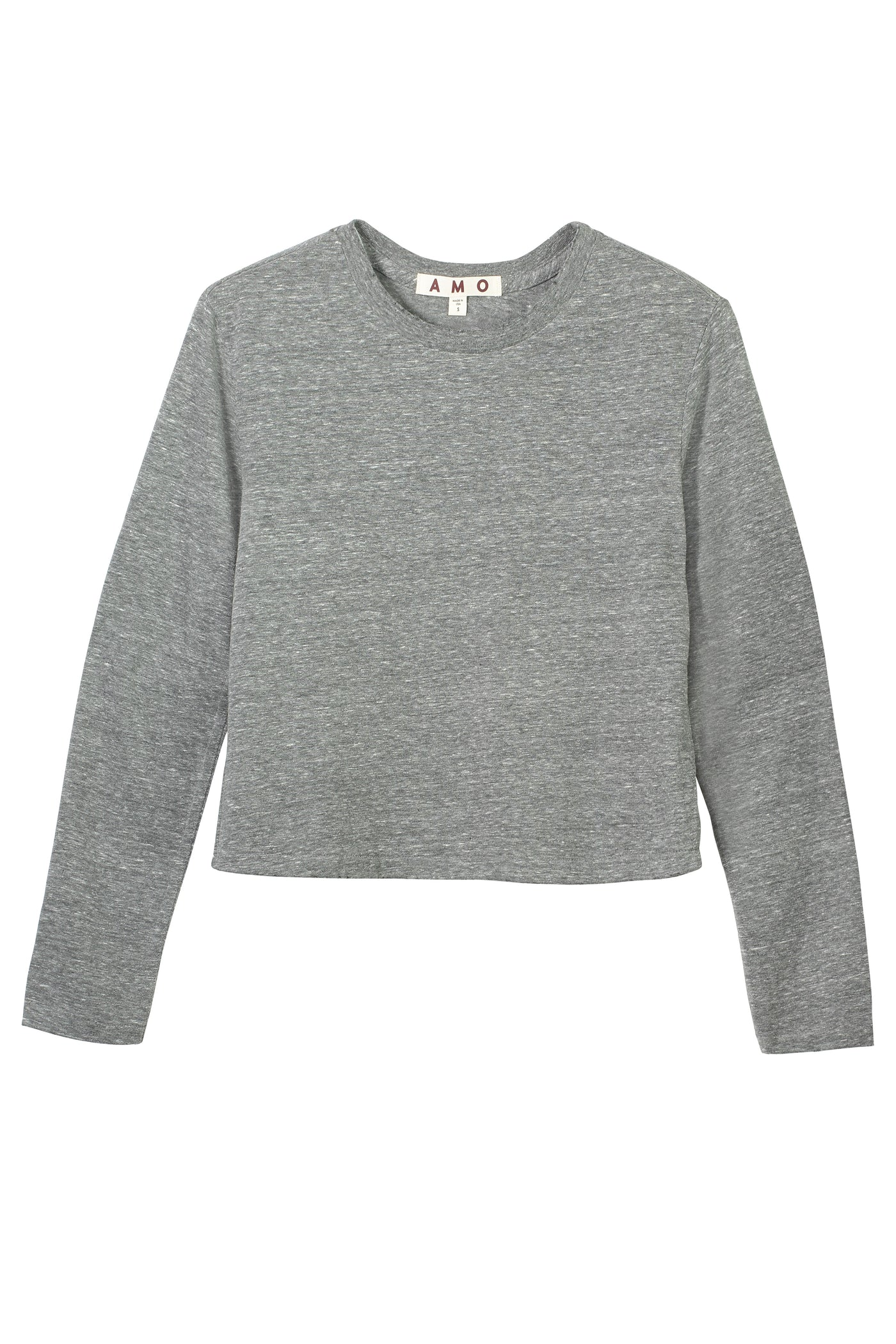 L/S Babe Tee <br> Heather Grey