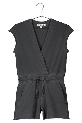Shorty Jumpsuit <br> Faded Black