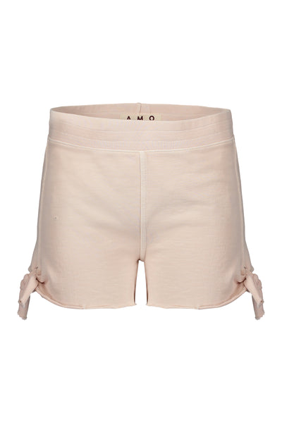 Sample Sale <br> Tie Short <br> Pale Pink<br> *Final Sale*