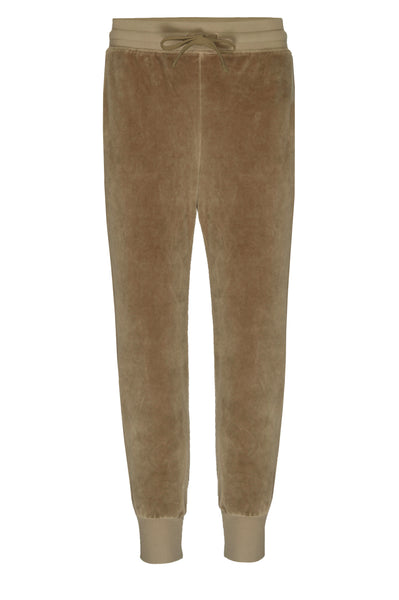 Velour Sweatpant <br> Light Olive