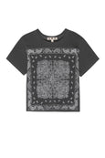 Bandana Tee <br> Faded Black
