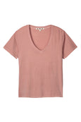 V-Neck Tee <br> Antique Rose