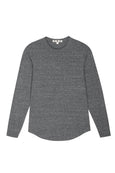 L/S Boy Tee <br> Heather Grey