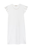 Flutter Tee Dress <br> Vintage White