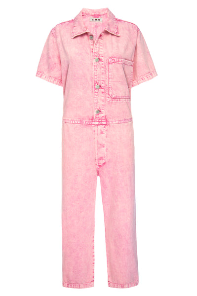 Luna Jumpsuit <br> Flamingo