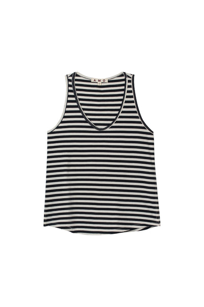 Sunday Tank <br> Sailor Stripe