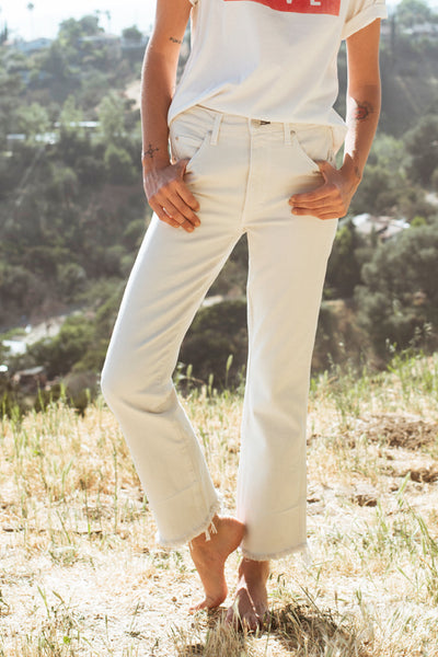 Bella with Released Hem <br> Vintage White