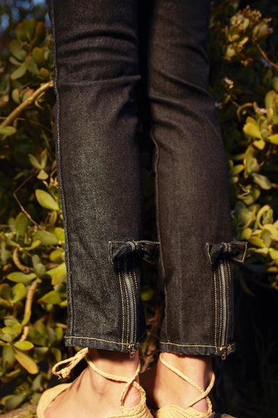Sample Sale <br> Bow Jean <br> Soft Raw <br> *Final Sale*