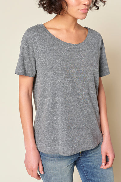Sample Sale <br> Boxy Tee <br> Heather Grey <br> *Final Sale*